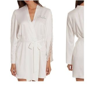 In Bloom Embroidered Bride Robe